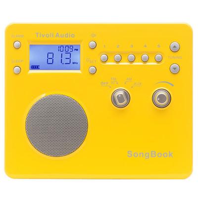 Tivoli ポータブルラジオ SongBook