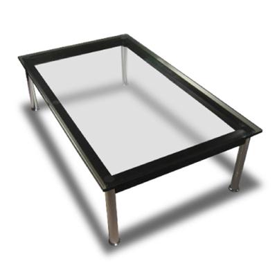 ル・コルビジェ LC10 ガラステーブル 120cm